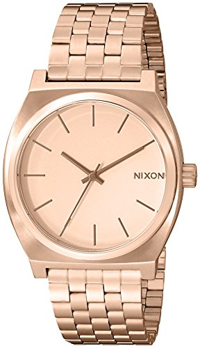 Nixon A045897 Time Teller A045. 100m Water Resistant Women's Watch (37mm Band. Stainless Steel Watch
